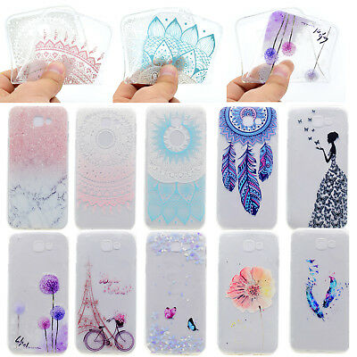 Clear Ultra Thin Silicone TPU Gel Phone Case Cover For Samsung Galaxy J3 Prime