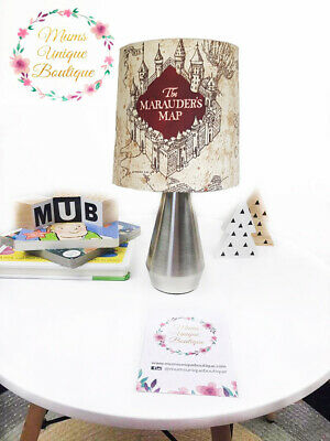 Harry Potter Marauders Map Children Nursery Table Lamp Night Light Touch Lamp