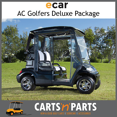 Ecar AC POWER Golfers DELUXE Package 2 Seat NEW GOLF CART Buggy 627 Series Full