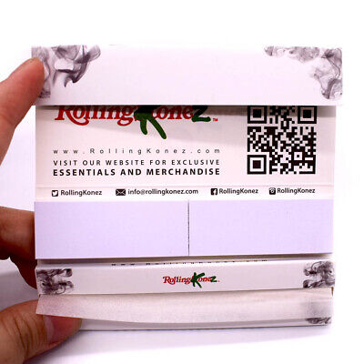 K*Z HEMP Rolling Papers 108*45mm 10 Booklets=320 leaves with Tips smoking