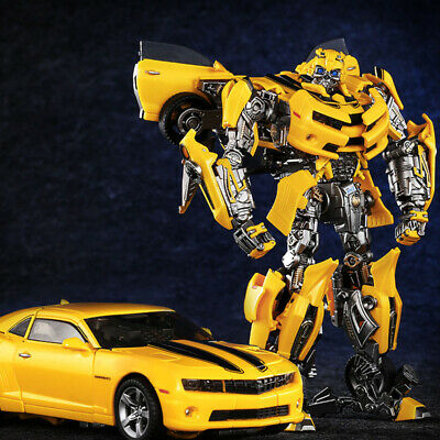 Transformers The Last Knight Alloy MPM03 Bumblebee Car Deformation Robot Toys