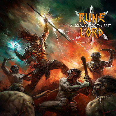 RUNELORD Message from the past CD Stormspell Records 2018