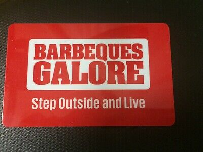 BARBEQUES GALORE gift voucher value $75