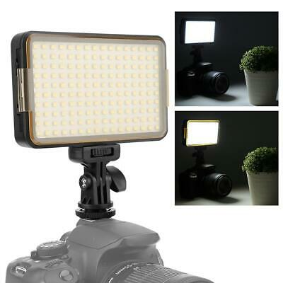 PAD160 Dimmable LED Video Fill Light Lamp 6000K For Digital SLR Camera Camcorder