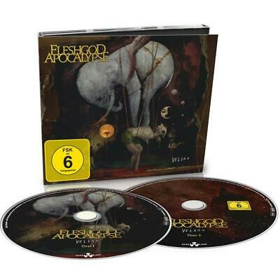 Fleshgod Apocalypse Veleno DIGIPAK CD & BLU-RAY All Regions NEW