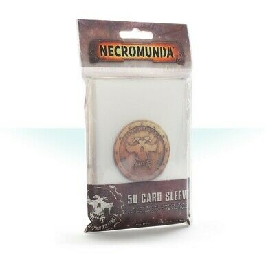 Necromunda Card Sleeves Games Workshop Brand New