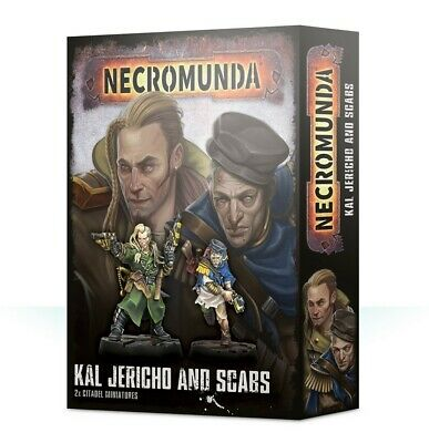 Necromunda Kal Jericho And Scabs Games Workshop Brand New