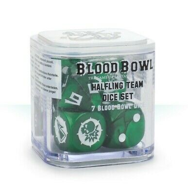 Blood Bowl: Halfling Dice Set Games Workshop Brand New