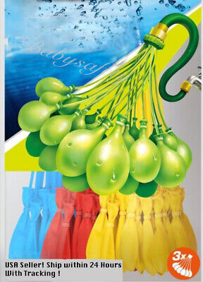 5 Packs 555 Pcs Self-Sealing Instant Water Balloons,Bunch O Balloon style