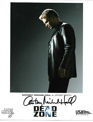 Anthony Michael Hall Authentic Signed 8x10 Photo Autographed, Dead Zone