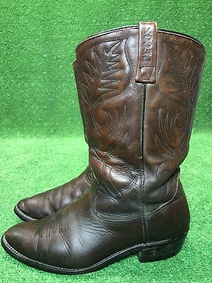 adbbcf6ada9 VTG RED WING Leather Motorcycle PECOS Biker Cowboy Western Mens ...