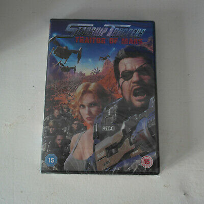 NEW DVD Starship Troopers: Traitor Of Mars (New & Sealed)