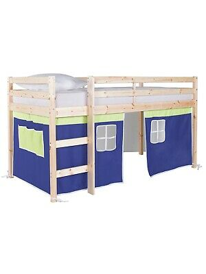 Blue and Green tent for a Wooden Midsleeper