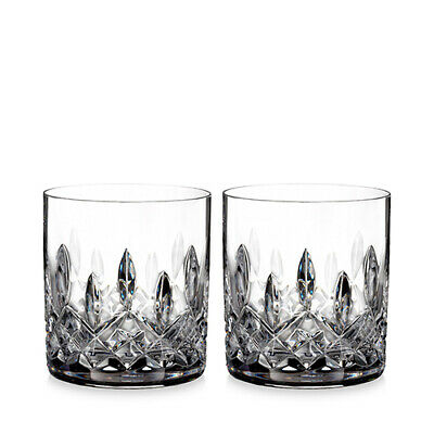 Waterford Crystal Lismore Straight-Sided Tumblers  Set of 2