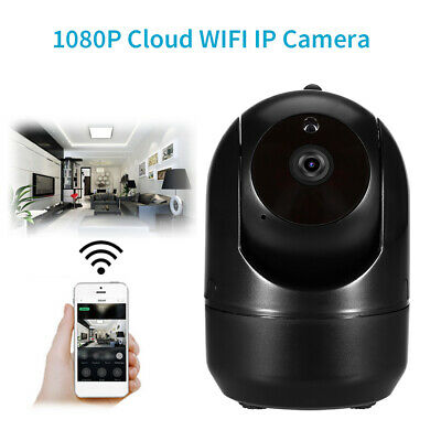 WIFI Auto Track IP Camera Wireless 2MP 1080P HD IR Motion Tracking Baby Monitor