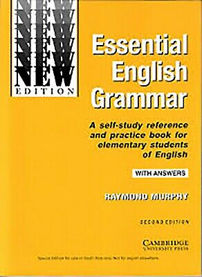 Essential English Grammar In Use Self-Study And answers New Book Raymond Murphy