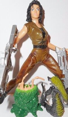 aliens vs predator kenner toys RIPLEY 6 inch alien resurrection 1996 signature