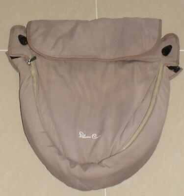 Silver Cross Surf apron to fit seat unit & carrycot - Sand colourway