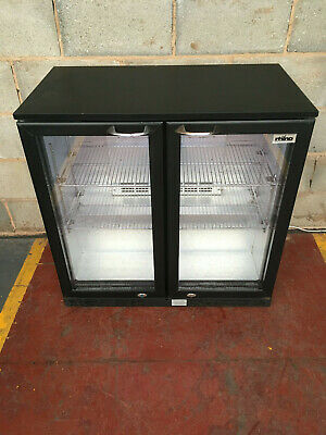 Rhino 2 Door Drinks Display/ Bar Chiller/ Cooler/ Fridge LED