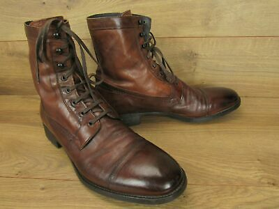 d5814784d73 To Boot New York Lincoln Congac Brown Leather Mens Ankle Boots Size 12 $450