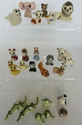 25 Phillip Laureston Pottery Animal Miniatures. Babbacombe Pottery.