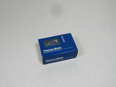 Thomas & Betts 14RB-14X Ring Pressure Terminal Connector Lot of 100 BLUE  NEW