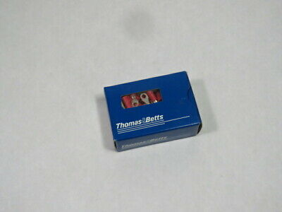 Thomas & Betts 18RA-6X Ring Pressure Terminal Connector Lot of 100 PINK  NEW
