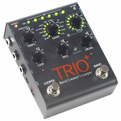 Digitech TRIOPLUS-U Band Creator Looper Pedal Loop Machine Guitar Effects