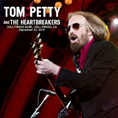 Tom Petty & The Heartbreakers  -  Live at the Hollywood Bowl 2017 Sept 22nd 2 CD
