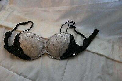 30a993cd3baf4 NEW VICTORIAS SECRET Dream Angels PUSH-UP Bra LACE Pink Dusty Rose ...