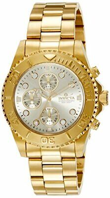 Invicta Men's 1774 Pro Diver Quartz Chronograph Champagne Dial Watch