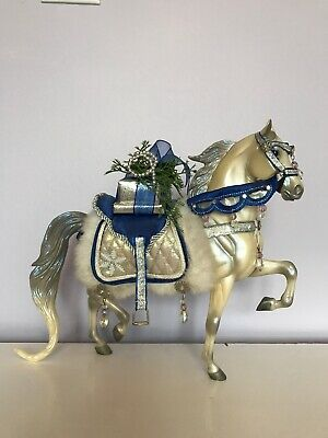 Breyer Christmas Horse Snow Princess Holiday 2006