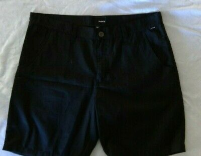 """Brand New Without Tags Hurley Men's Size 34"""" Walk Shorts Black"""