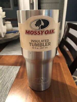 0eb41e8ff8d Mossy Oak 30 oz Ounce Double Wall Stainless Steel Insulated Tumbler Cup -  No Lid