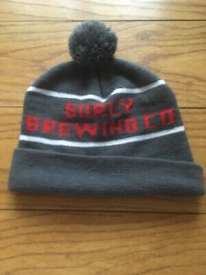 Surly Brewing Co. Winter Cap Gray And Red