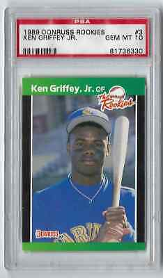 09687bff97 1988 DONRUSS KEN Griffey Jr. RC Rated Rookie ACEO Custom Card 2019 ...