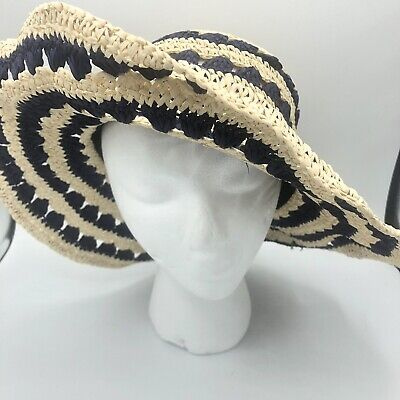 ab602a34 Kate Spade New York crochet packable hat Hats Off woven summer beach  vacation 88