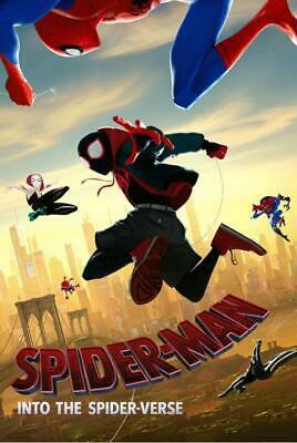 Marvel Spider-verse Poster | $11 Postage in Aust | Shipping within 24-48 Hrs