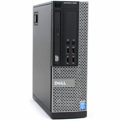 Dell Optiplex 9020 SFF i5-4690 QC 3.50Ghz 8GB RAM 128GB SSD Win 10 Desktop PC