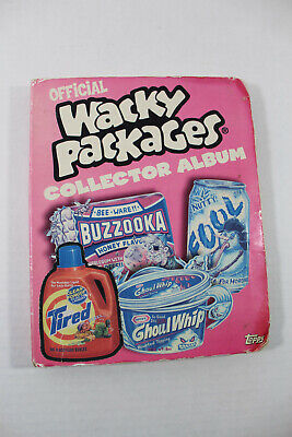 Wacky Packages Topps Lot Collector Album 2005 P1 2007 110 stickers