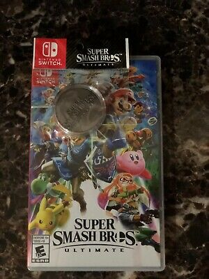 Switch Super Smash Bros. Ultimate With Coin