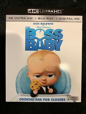 THE BOSS BABY - 4K Ultra HD UHD disc only (No Blu-ray or Digital Copy)