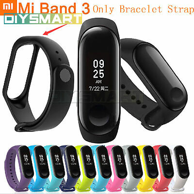 Xiaomi Mi Band 3 Smart Wristband Bracelet Heart Rate Monitor Sport Watch Lot AU