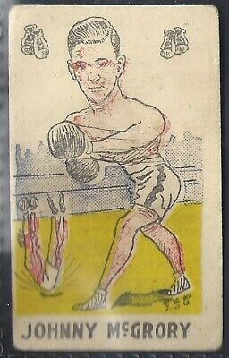 Baytch-Fighting Favourites-#50- Boxing - Johnny Mcgrory