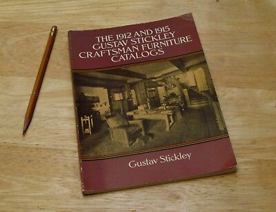 Gustav Stickley 1912 1915 Craftsman Furniture Catalogs Dover Books