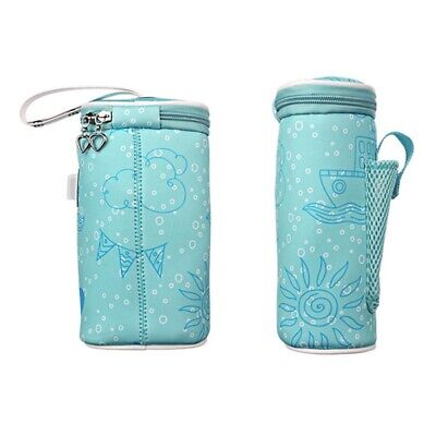 2X(Usb Baby Bottle Warmer Heater Insulated Bag Travel Cup Portable In Car Hea 3I
