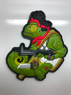 HIWEZ Tactical Chameleon Rambo PVC Airsoft Hook Loop Morale Patch