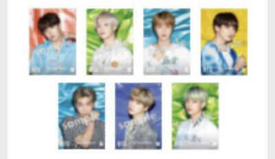 Bts Lights / Boy With Luv  - Japan Edition - Universal Music Store  Photocards