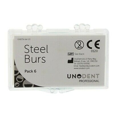 Steel Bur Round No.8 Pk6 Dental Dentist