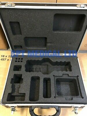 Hard Aluminium Flight Case PROTECTIVE CASE FOAM ORGANISER Key secured equipment